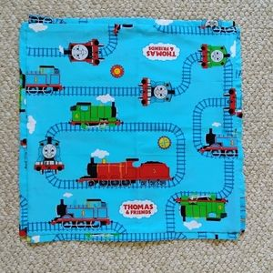 pair of Thomas & Friends pillow covers
